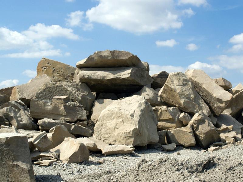 Das Material, faszination Stein